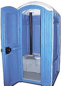 Туалетная кабина как средство вложения средств