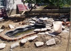 Как построить водоем на участке своими руками
